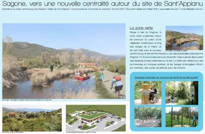 Illustrations du Projet Centre-Bourg Vico-Sagone