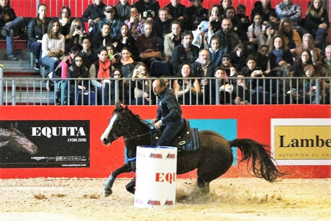Jean Marc et Carla Malatesta au firmament du barrel racing