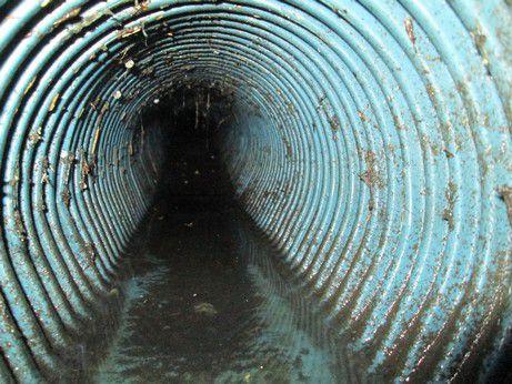 Sondage d'une canalisation par Inspection Caméra