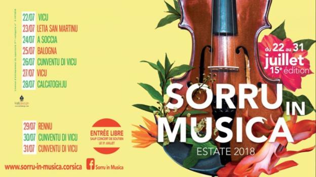 Sorru in Musica  Estate 2018