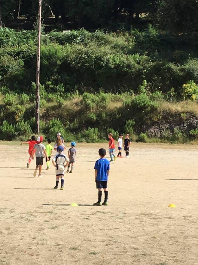 Stage d'été pour nos footballeurs en herbe