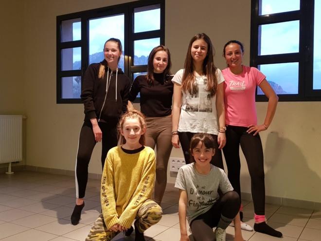 Nos ados danseuses