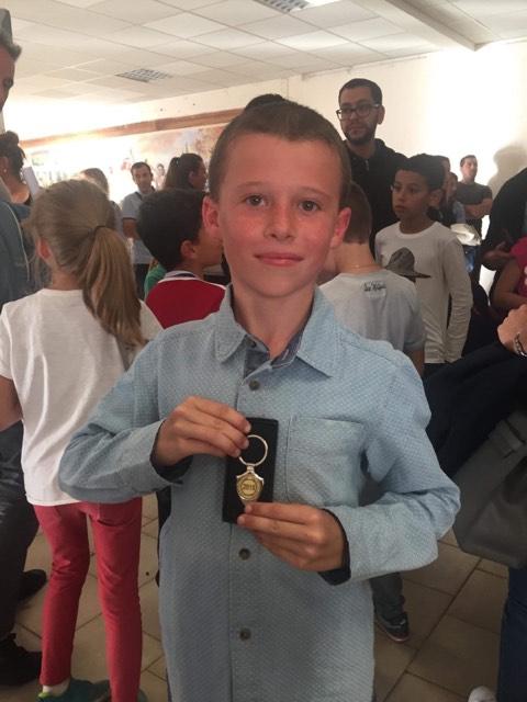 Un élève de Vico finaliste du concours départemental d'orthographe CE2