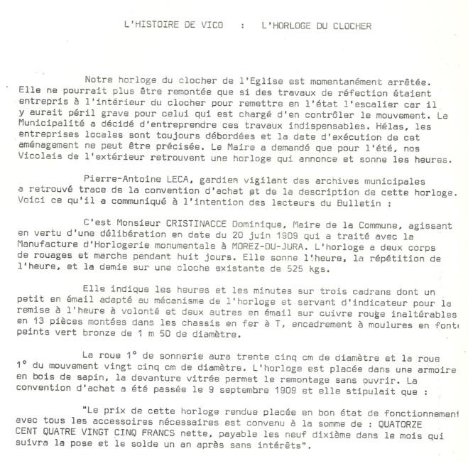 Extrait du bulletin municipal de Février 1974