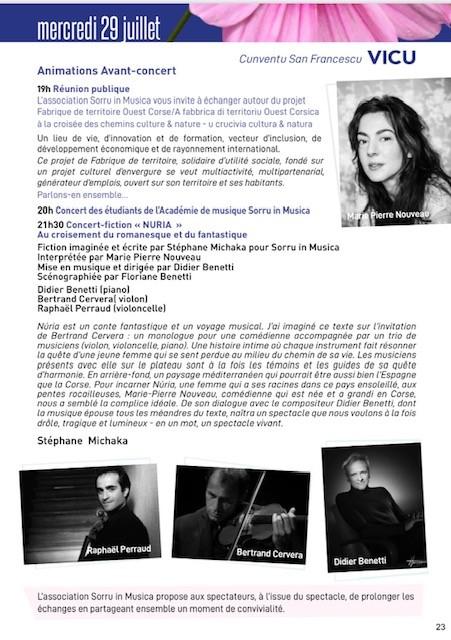 Sorru in Musica Estate 2020