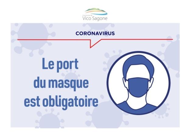 Port du masque obligatoire dans tous les lieux publics clos