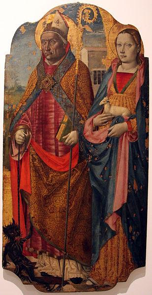 Sant'Eusebiu è Sant'Agnese