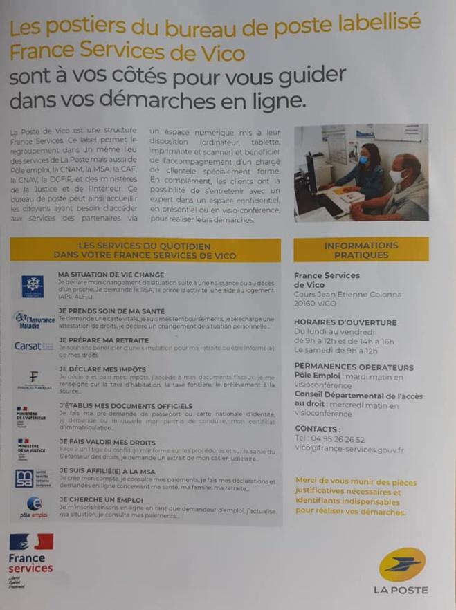 France Services à Vico