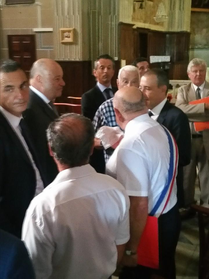 Le Ministre de l'aménagement du territoire en visite officielle à Vico