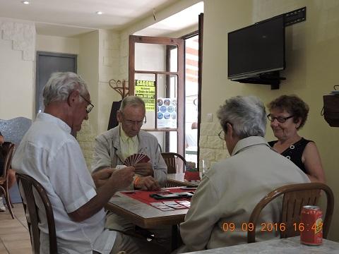 """""""Corse Septembre 2016"""" Stage et Tournoi de Bridge à Vico et Sagone."""