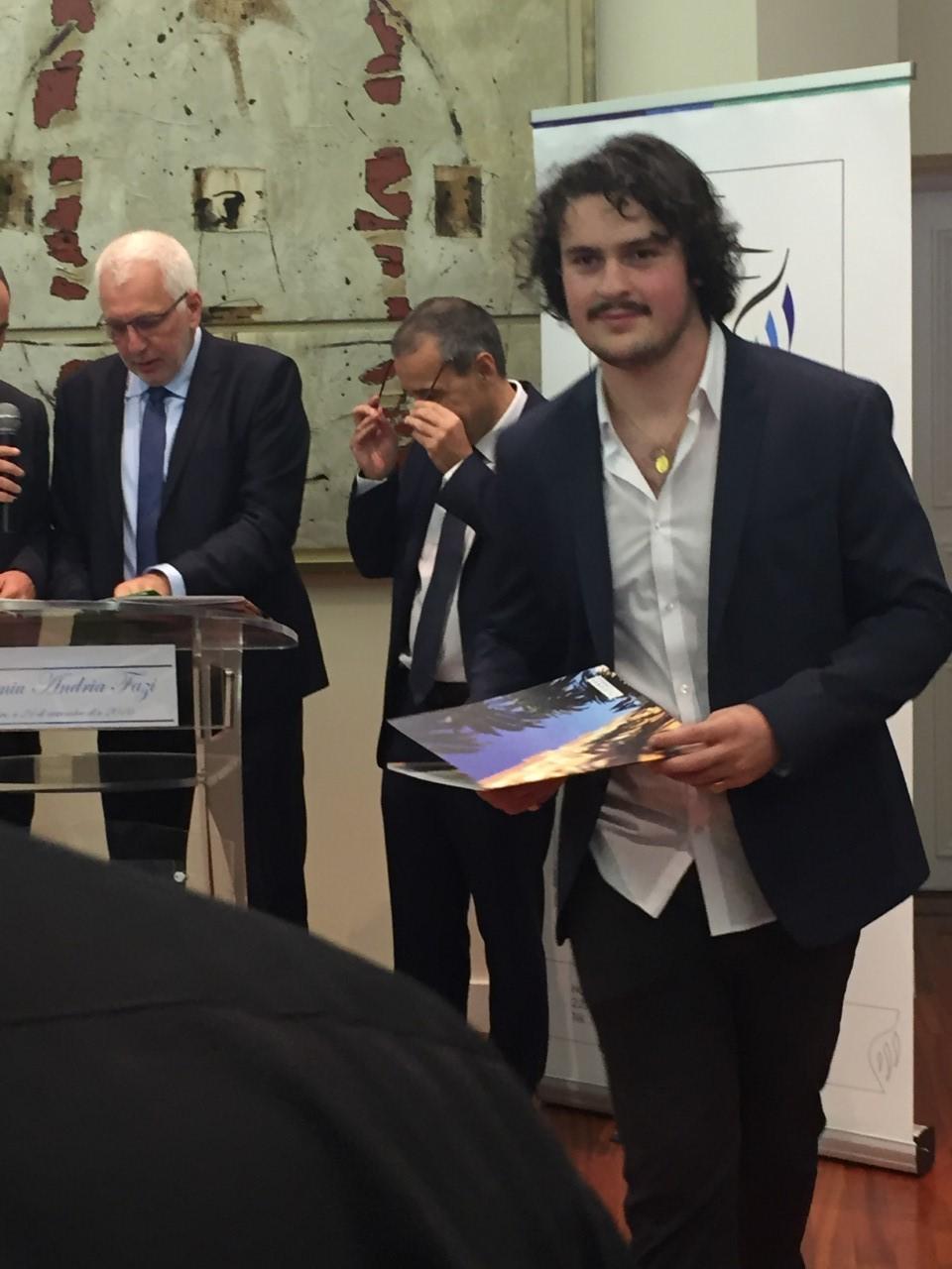 """""""U Premiu Andria Fazi"""" pà Jean Sébastien Arrighi"""