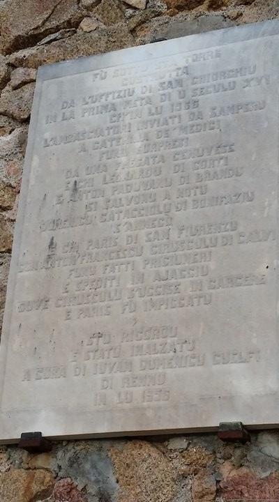 Plaque apposée sur la Tour