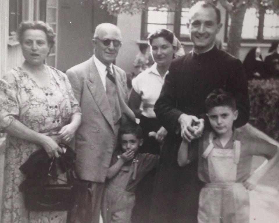 Pierre Zevaco en famille