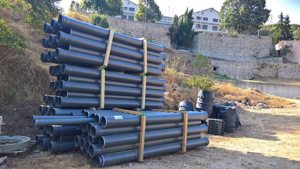 Réfection du réseau d'assainissement et Construction d'une station d'épuration High Tech à Vico