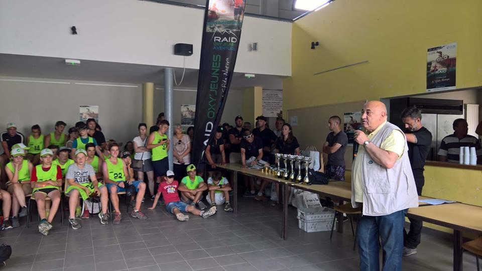 Lisandru Fieschi et Valentin Margail, deux vicolais au Raid Oxy'jeunes Aventure
