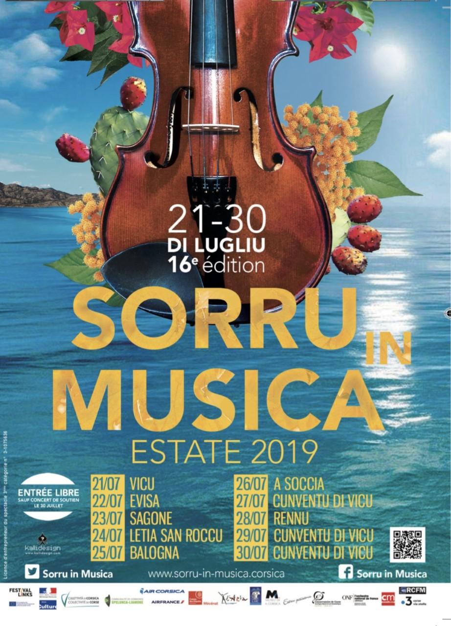 sorru in musica estate 2019