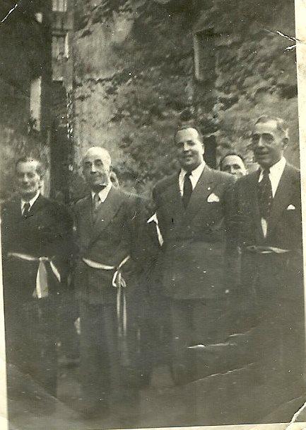 Dr Susini, Dr Delfini, Pascal Arrighi, Mr Leca