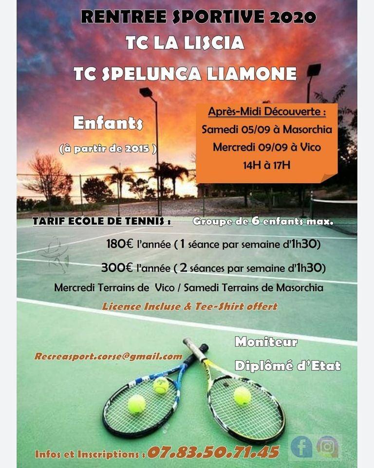 Tennis. Rentrée sportive 2020