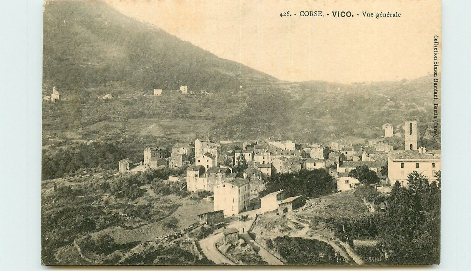 Vico, cité antique
