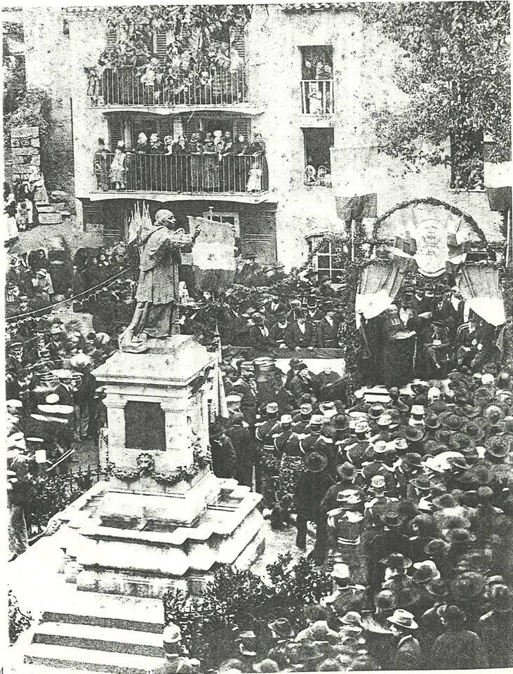 Inauguration de la Fontaine en 1887