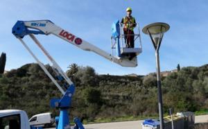 Modernisation de l'éclairage public de la commune