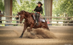 Championnats de france de reining : Belles performances pour le ranch de sagone