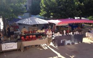 Reprise du marché communal à Vico